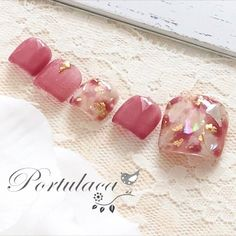 Make an original manicure for Valentine's Day - My Nails Cute Toe Nails, Toe Nail Art, Love Nails, Pedicure Designs, Toe Nail Designs, Nail Swag, Wonder Nails, Feet Nail Design, Manicure Y Pedicure