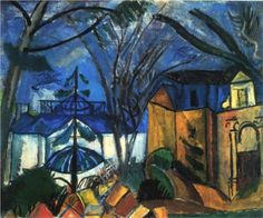 Fan account of Raoul Dufy, a French Fauvist painter. Andre Derain, Raoul Dufy, Modern Artists, French Artists, Georges Braque, Building Art, Le Havre, Post Impressionism, Art Database