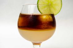 The Dark and Stormy...the perfect cocktail for these last days of winter.