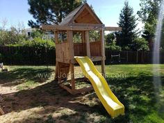 Under $2,000 Simple Playhouse, More Pictures, Play Houses, Woodland, Construction, Building, Treehouse, Outdoor, Baby Shower