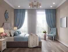 Fancy Bedroom, Modern Bedroom, Bedroom Decor, Bedroom Ideas, Small Room Design, Home Room Design, House Design, House Rooms, Living Room