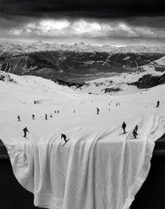 Beware, Off-piste skiing!