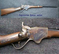 The Spencer Rifle was the advanced technology that changed the direction of the Civil War.  Its cartidge firing 7 shot repeater carbine and rifle helped turn the tide of battle at Gettysburg.