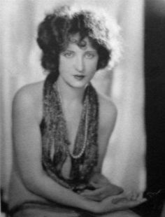 Portrait of Carmel Myers, 1920's.