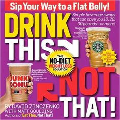 The Biggest Loser Drink this Not That Guide $13.59 #BiggestLoser
