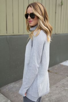 Grey on grey // perfect waves part II // Gal Meets Glam