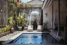 Bali Gypsy Villa Seminyak, Bali - Bungalows te Huur in Badung, Bali, Indonesië Outdoor Daybed, Outdoor Decor, Natural Interior, Plunge Pool, Comfy Bed, Wooden House, Spa Day, Perfect Place, Bali