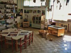 Reggio Emilia Approach Interest Group: A look at Area Verde at Marino Marini School in Pistoia, Italy. Photo by James Elicker, PhD - Associate Professor of Child Development and Family Studies at Purdue University ≈≈