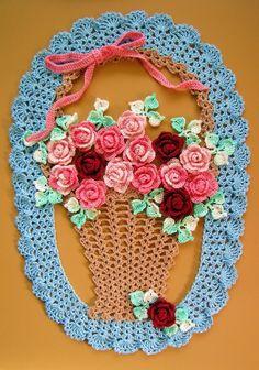 BellaCrochet: Mais Doilies Floral Vintage