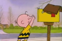 Charlie Brown gets the best mail!