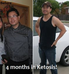 So glad I discovered nutritional ketosis. I love proclaiming and sharing my experience! Enjoy this before and after...the result of my ketogenic diet.