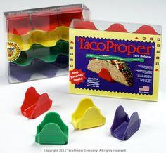 TacoProper® FiestaPak™  12 multi-colored TacoProper® taco holders