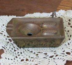 Unusual Vintage Kitchen Sink Brass Ashtray