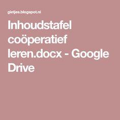 Inhoudstafel coöperatief leren.docx - Google Drive