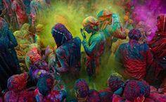 Holi Festival. India