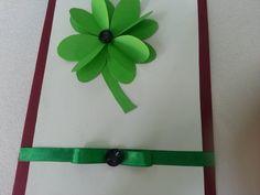 DIY 3D Paper Shamrock Card - Createsie