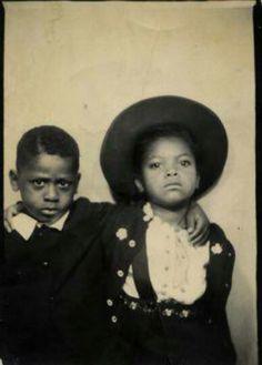 Vintage African American Children