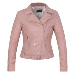 2017 New Fashion women leather coat soft faux leather Ladies pink jacket female coat Drop Shipping hot sale high quality spring //Price: $79.98 & FREE Shipping // The Buddy Shoppe// https://thebuddyshoppe.com/shop/apparel-accessories/2017-new-fashion-women-leather-coat-soft-faux-leather-ladies-pink-jacket-female-coat-drop-shipping-hot-sale-high-quality-spring/ //    #thebuddyshoppe