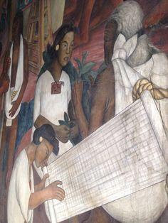 Diego Rivera detail