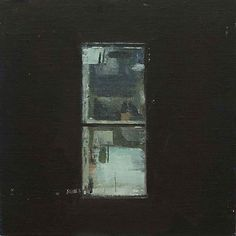 Sangram Majumdar, window study (night)