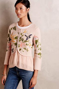 Winged Wonder Cardigan - anthropologie.com