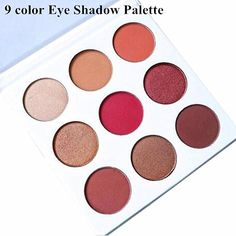 2017 New Women Make Up Set Kyshadow Kit Cosmetic Eyeshadow Pallete Shimmer Matte Professional Makeup Burgundy Eyeshadow Palette
