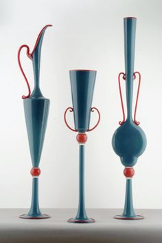 By Dante Marioni.  Google Image Result for http://www.mmfa.org/mmfa/web/uploadedImages/Collections/Studio_Art_Glass/blue_trio.jpg