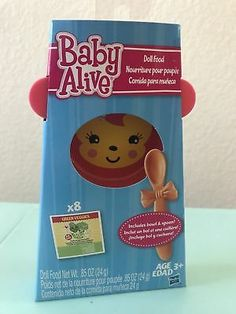 Veggies /& Fruit BABY ALIVE Powdered Doll Food Pack Officially Licensed NEW
