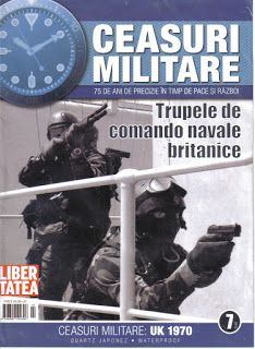 Watches & Clocks  Collection: Ceas Trupele de Comando Navale Britanice