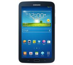 """Galaxy Tab 3 WiFi 7"""" - 8 Go - noir - Tablette + Galaxy Tab 3 7"""" Book Cover EF-BT210 - gris anthracite - Etui à rabat -  NOUVEAU PRODUIT"""