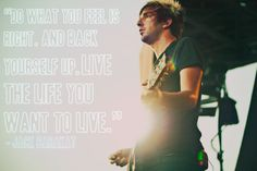 Jack Barakat. Wise words from the wonderful, Lebanese prince, Jack of All Time Low <3