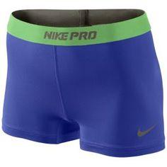 "Nike Pro 2.5"" Compression Short - Women's - Atomic Green/Bordeaux"