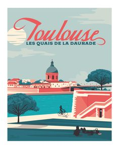 Decorating with Vintage Posters Poster Surf, Poster Retro, Poster City, Pub Vintage, Surf Decor, Tourism Poster, France Photography, Ville France, Travel Illustration