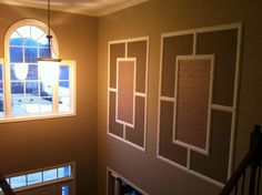 How to decorate a 2 story foyer.  Southgate Residential: A Few Projects at my Own House