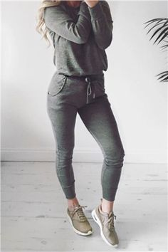 Roberta Khaki Loungewear Set at misspap.co.uk