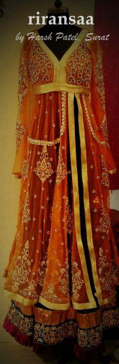 Wedding anakali's by Harsh Patel