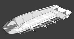 The Fast Skiff 17 is an easy and economical power boat to build that can be customized to fit your needs. Shop boat plans and kits at Bateau today! Wooden Boat Building, Wooden Boat Plans, Boat Building Plans, Wooden Boats, Boat Projects, Diy Projects, Build Your Own Boat, Boat Kits, Fishing Boats