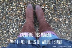 Sharing one of my favorite self-portrait prompts :: Capturing this moment: where i stand