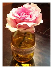 I was so excited to discover this cool tutorial at Savvy Deets Bridal for colorizing mason jars! I love the traditional aqua mason jars, but how fun to customize clear jars to match your wedding co… Tinted Mason Jars, Mason Jar Wine, Fall Crafts, Halloween Crafts, Diy And Crafts, Staining Mason Jars, Diy Wedding, Wedding Blog, Wedding Ideas