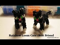 ▶ Rainbow Loom 3D Cat Charm - Minecraft Figure - YouTube