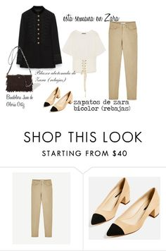"""look del dia : lunes"" by aliciagorostiza ❤ liked on Polyvore featuring Novo"