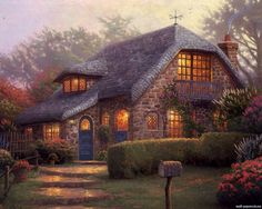Thomas Kinkade Painting 84.jpg