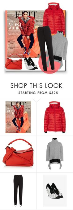 """""""Liu Wen for """"The Edit"""""""" by sylandrya ❤ liked on Polyvore featuring Canada Goose, Loewe, Balenciaga and GetTheLook"""