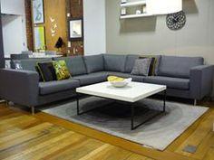 Indivi2 sofa combination Save £999 Now £1,879 Was £2,878 Indivi2 sofa combination Classic seat infills  Dark grey Nu fabric  H76xW271xD271