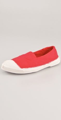 Love Bensimon tennis flats. I have them in gray, but this color is just so gorgeous!