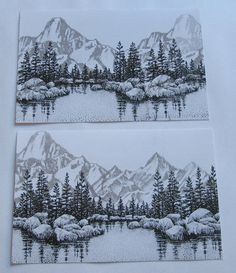 Stampscapes & Scenic stamping