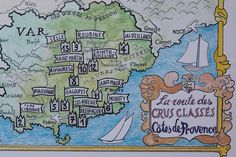 La route des crus classés Côtes de Provence