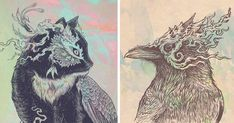 Illustrated Mythical Animal Kingdom By Matt Miller | Bored Panda
