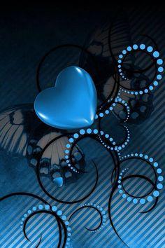 Blue heart!!...LOVE LOVE it!!..