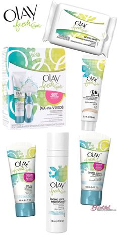 <3 Olay's Newest Skincare line